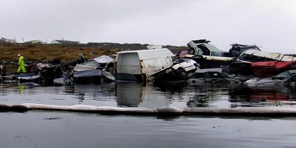 Black Sod Bay Oil Spill