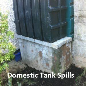 Domestic Tank Spills