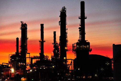 Caltex Oil Refinery