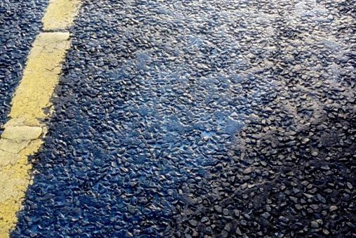 M1 Motorway oil spill