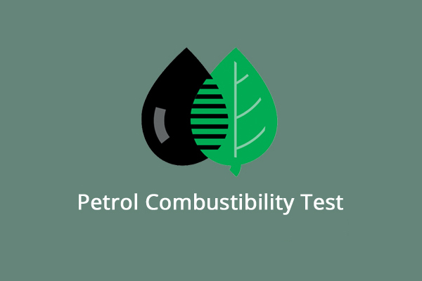 Petrol combustability test